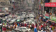 Traffic noise hindering communication
